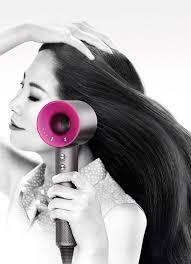 dyson hair dryer. drying with the dyson supersonic™ hair dryer