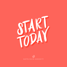 Sorority Letter Designs Start Today Motivational Monday Inspirational Quote Ideas