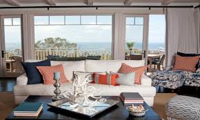 Navy Living Room Decor Pictures Of Coastal Living Rooms Navy And Orange Living Room