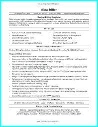 Medical Billing And Coding Resume Sample Best of Medical Billing Resume Job Description For Medical Billing And
