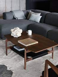 risom t 301 hexagon coffee table