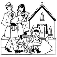 Small Picture Family Going To Church Clipart Black And White clipartsgramcom