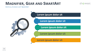 ppt smart art gears diagrams for powerpoint showeet com diagram