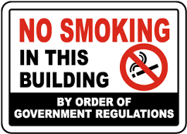 No Smoking Signage No Smoking Facility Signs High Quality Fast Shipping