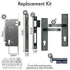 Pella Storm Door Lock Body Replacement Kit Mortise Home Appraisal Ideas