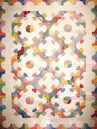 Drunkards Path Quilt Pattern Awesome Oliver's Drunkard's Path Quilt Q Is For Quilter