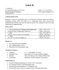 Mba Admission Resume Sample