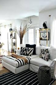 modern black white. Interior, Living Room Go Modern And Luxurious With Black White Gold Decor Alive Awesome 7 M