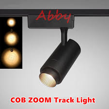 Industrial track lighting industrial track lighting zoom Ceiling Theater Stage Zoom Spotlights Led Spotlights Projection Zoom In Out Adjustable Focus Track Lights Industrial Logo Lighting Lamp Aliexpress Theater Stage Zoom Spotlights Led Spotlights Projection Zoom In Out