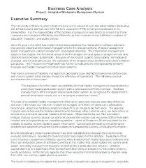 Examples Of Executive Summary Templates Army Format Example