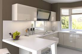 Simple Kitchen Interior Kitchen White Bright Traditional White Kitchen Cabinet Yellow