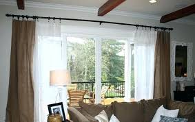 exotic sliding patio door drapes curtains for glass doors designs curtain p16