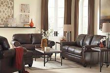 Ashley Furniture Leather Loveseats