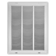 18x24 air filter. Exellent Air White Return Air Filter Grille In 18x24 E