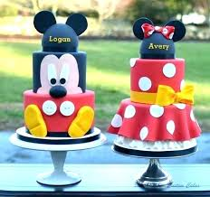 Mickey Mouse Cake Ideas Easy Fn Ll Wnted Mke Ddnt Birthday