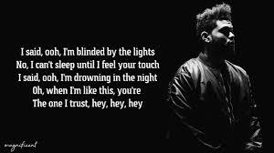 The Weeknd - Blinding Lights (Lyrics) - YouTube