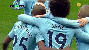 Man City's Fernandinho hits top corner with shot v. Burnley FC