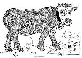Mandala Da Colorare Per Bambini La Mucca Disegni Mammafelice