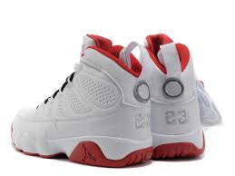 Jordan Chart Jordan Shoes Number Chart New Jordan 9 Retro White Red