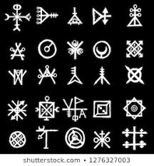 Wiccan Symbols And Meanings Chart Wiccan Symbols Images Stock Photos Vectors Shutterstock