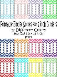 Custom Pocket Folder Template Spine Avery Binder 2 Inch Printed