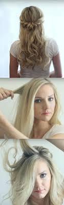 Formal Hairstyles For Medium Hair Half Up Half Down Beautiful Updo