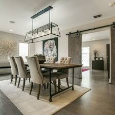modern farmhouse furniture. Modern Farmhouse Furniture With Dining Table And Carpets Chandelier R