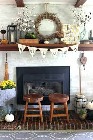 mantel decor ideas 6 pay homage to the fall harvest fireplace