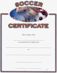 Soccer Certificate Templates For Word Soccer Award Certificates Activity Shelter
