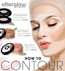 how to contouring and highlighting your face with makeup