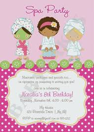 New Of Free Pamper Party Invitation Templates 7 Fantastic Spa