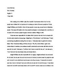 good essays for the crucible the crucible theme essay colorado state university