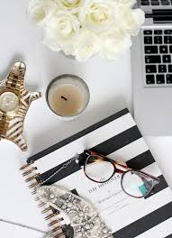 chic office space. Office Space Of The Day...desk Styling Chic G