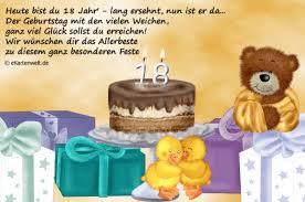 Alles Gute Zum 18 Geburtstag Spruche