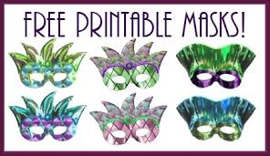 Mardi gras mask template these free mardi gras mask templates are so much fun for kids and adults alike! Host A Mardi Gras Party Recipes Free Printable Masks Pizzazzerie