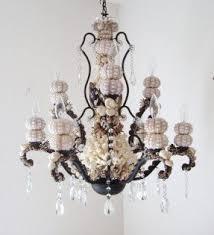 seashell bathroom lighting fixtures. chandelier seashells sea urchins and coral by sandisshellscapes, $650.00 seashell bathroom lighting fixtures t