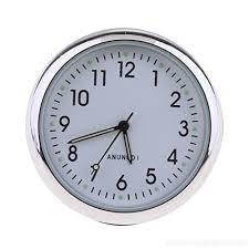 homyl car clock high accuracy car dashboard clock classic table mini quartz clock car onboard small round