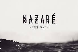 Nazare 商用利用可お洒落でセンスある英語フリーフォント