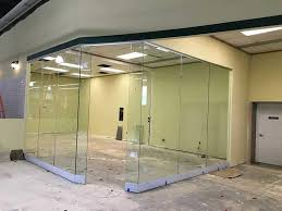 office room divider. glass office room divider