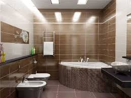 Small Picture Modern Bathroom Remodeling Ideas DIY Tiled Wall Design with Stripes