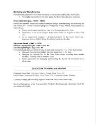 sample resume 2 page 2 - Sample 2 Page Resume