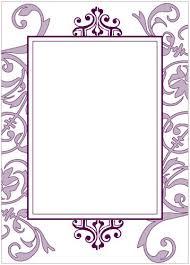 Black And Purple Invitations Purple Flourish Party Invitation Wiregrass Weddings