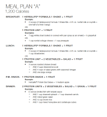 Herbalife Meal Plans Jump Start Menu Plan From The Beginning Of My Weight Loss Journey