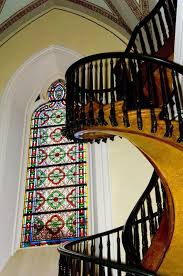 mysterious spiral staircase of loretto chapel in new mexico