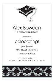 Elegant Graduation Announcements Elegant Grad Cap Graduation