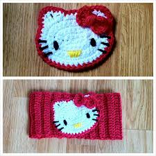 Hello Kitty Crochet Pattern
