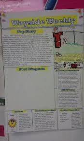 Newspaper Book Report Template Book Reports Mr Urbanskis Online Classroom