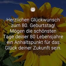 ᐅ Glückwünsche Zum 80 Geburtstag Beliebt Lustig Kreativ