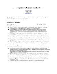 Rn Bsn Resume Examples rn bsn resume Guvesecuridco 2