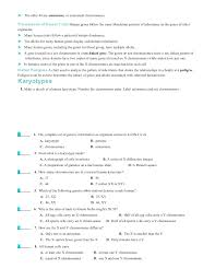Section 111 Basic Patterns Of Human Inheritance Worksheet Answers